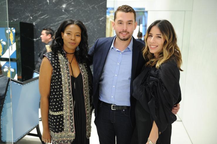 Kendra Holmes, Anthony Xavier, & Arielle Gutierrez